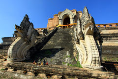 Schöner Tempel und Buddha in Thailand Lizenzfreies Stockfoto