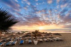 Schöner Teneriffa-Meerblick - Costa Adeje Stockfoto