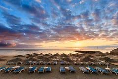 Schöner Teneriffa-Meerblick - Costa Adeje Lizenzfreie Stockbilder