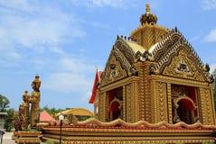 Schöner Thailand-Tempel lizenzfreies stockbild