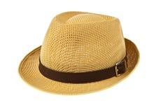 Schöner traditioneller Panama-Hut lizenzfreie stockfotos