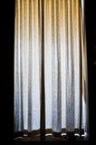 Schöner Trennvorhang lizenzfreies stockbild