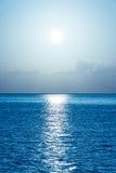 Schöner tropischer Ozeanhintergrund Lizenzfreies Stockfoto