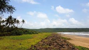 Schöner tropischer Strand stockfoto