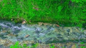 Schöner Una-Fluss stock video footage