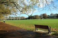 Schöner und ruhiger Park Lizenzfreies Stockbild