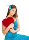 Schöner Valentinsgruß Lizenzfreie Stockbilder