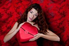 Schöner Valentinsgruß Lizenzfreie Stockfotografie