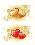 Schöner Valentinsgrußhintergrund Stockfoto