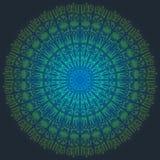 Schöner Vektor Mandala Backgrounds EPS10 Stockbild