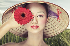 Schöner Vietnamese Stockbilder