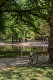 Schöner Volksgarten-Park in Köln Lizenzfreie Stockfotos