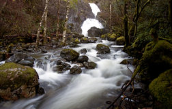 Schöner Wasserfall 2 Stockbilder
