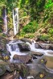 Schöner Wasserfall in den tropischen rainfores Stockbild