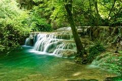 Schöner Wasserfall in Lovech, Bulgarien stockbild