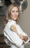 Schöner weiblicher Chef Stockfotos