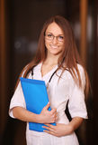 Schöner weiblicher Doktor Lizenzfreies Stockbild