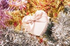 schöner Weihnachtsaufbau stockfotografie