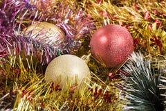 schöner Weihnachtsaufbau lizenzfreie stockfotos