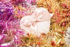 schöner Weihnachtsaufbau stockfotos