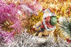 schöner Weihnachtsaufbau lizenzfreies stockfoto