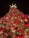 Schöner Weihnachtsbaum Lizenzfreies Stockbild