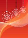 Schöner Weihnachtshintergrund Lizenzfreie Stockfotos