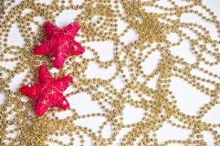 Schöner Weihnachtshintergrund Lizenzfreies Stockbild