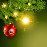Schöner Weihnachtshintergrund vektor abbildung