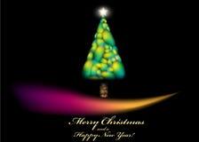 Schöner Weihnachtshintergrund Stockfoto