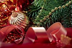 Schöner Weihnachtshintergrund Stockbilder