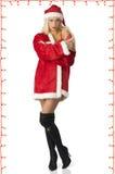 Schöner Weihnachtsmann Stockfotos