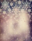Schöner Weinlese Weihnachtshintergrund Stockfoto
