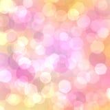 Schönes abstraktes bokeh Lizenzfreies Stockbild
