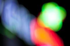 Schönes abstraktes Hintergrund bokeh Lizenzfreie Stockfotografie