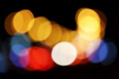 Schönes abstraktes Hintergrund bokeh Lizenzfreies Stockbild