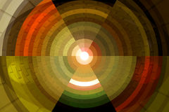 Schönes abstraktes Muster Lizenzfreie Stockfotografie