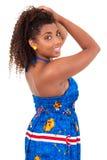 Schönes Afroamerikanermädchen stockfotografie