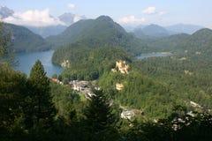 Schönes alpines Lizenzfreies Stockbild