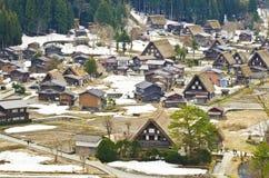 Schönes altes Dorf lizenzfreie stockfotos