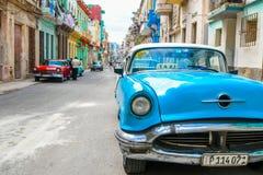 Schönes altes Havana lizenzfreie stockfotos