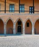 Schönes altes Schloss Stockfotos