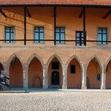 Schönes altes Schloss Lizenzfreie Stockbilder