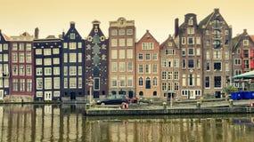 Schönes Amsterdam, Holland Stockbild