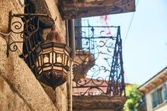 Schönes Architekturdetail in Verona, Italien Lizenzfreies Stockfoto
