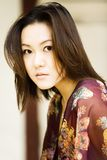 Schönes asiatisches Mädchen stockfotografie