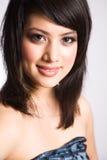 Schönes asiatisches Mädchen Stockfotos