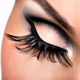 Schönes Augen-Make-up Stockfoto
