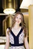 Schönes Ausdruckportrait der jungen Frau Lizenzfreie Stockbilder