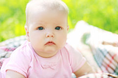 Schönes Baby lizenzfreies stockbild